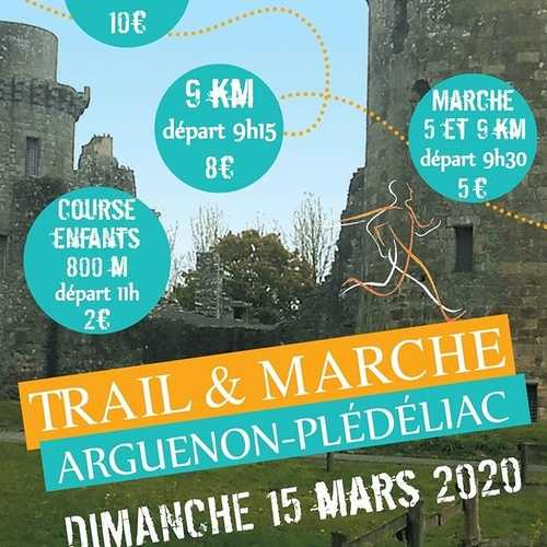 Dimanche 15 mars : marche et trail