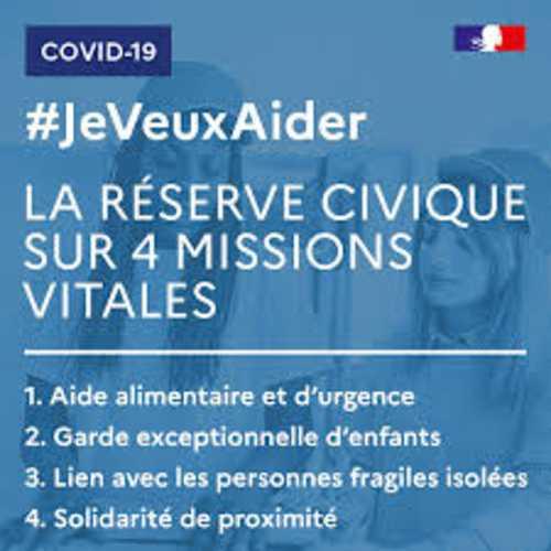"""Lancement de la plateforme """"jeveuxaider.gouv.fr – Réserve civique COVID-19"""""""