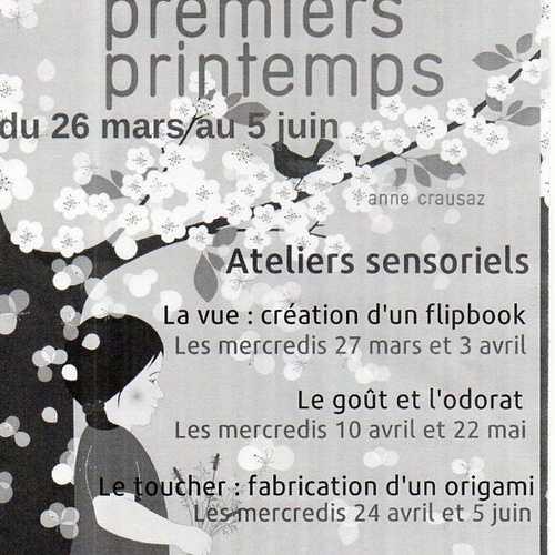 Du 26 mars au 5 juin : exposition premiers printemps