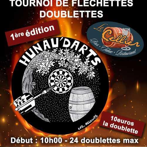 Samedi 7 décembre : tournoi de fléchettes doublettes - 1ère édition