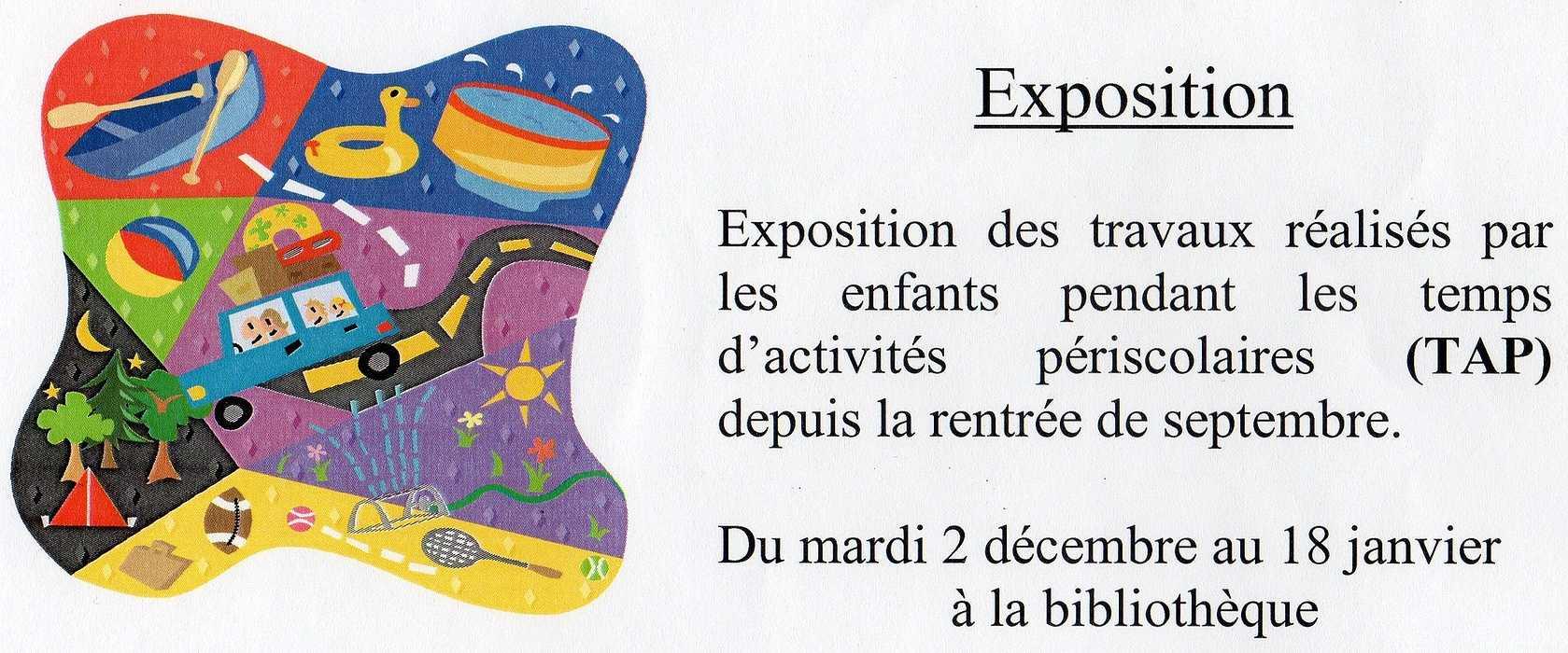 Exposition à la bibliothèque du 2.12 au 18.01.15 0