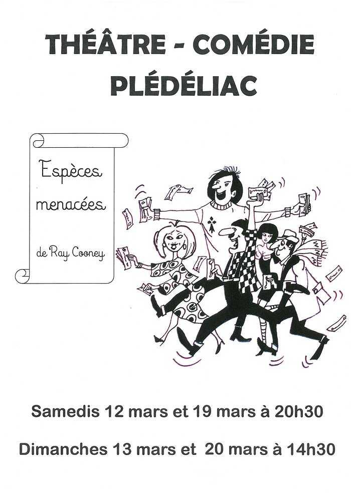 samedis 12 et 19 mars - dimanches 13 et 20 mars Théâtre 0