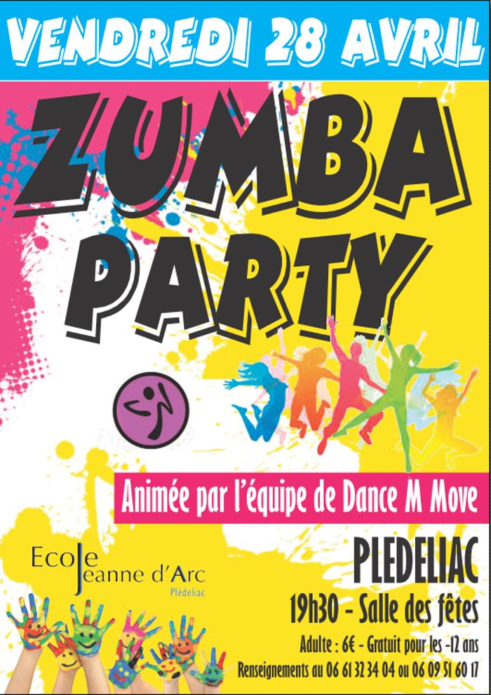 Zumba party - vendredi 28 avril 0