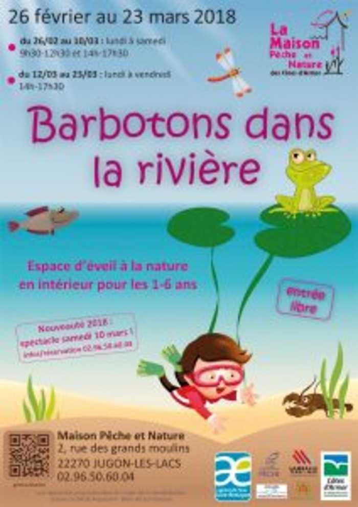 Pour les vacances d'hiver 2018 « Barbotons dans la rivière » fait son retour dès le 26 février 0