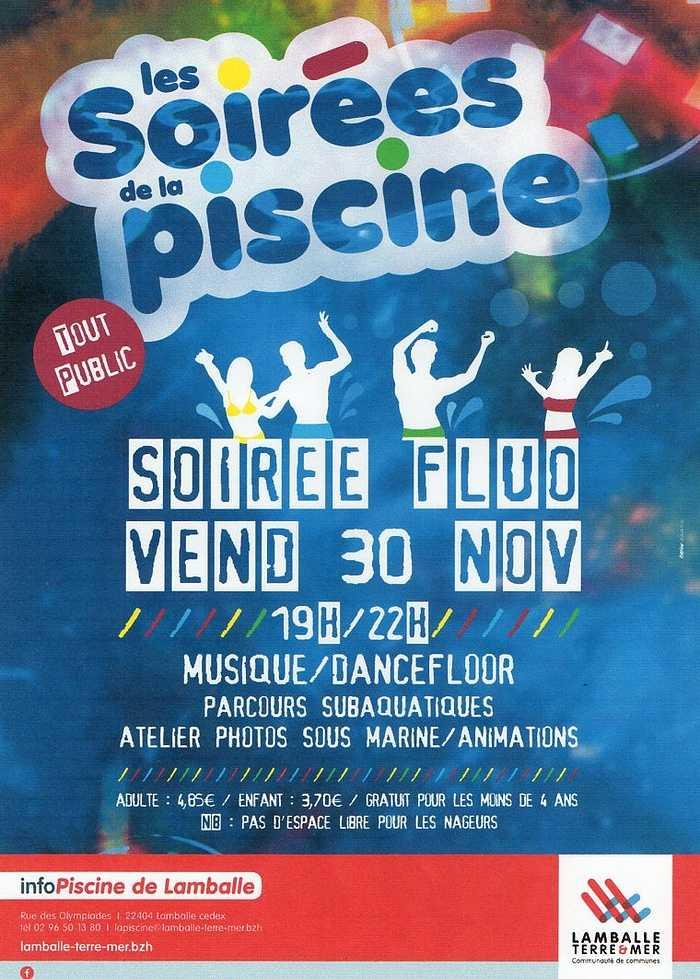 Vendredi 30 novembre : Soirée fluo à la piscine de Lamballe 0