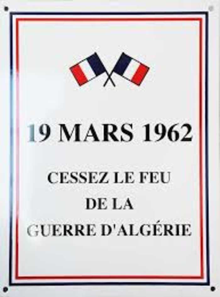 Commémoration du Cessez le feu en Algérie : 24 mars 2019 0
