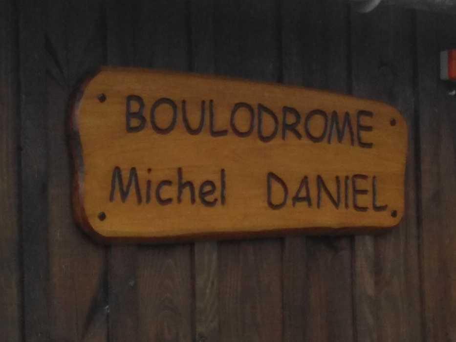 Samedi 15 juin : inauguration du boulodrome Michel DANIEL 0