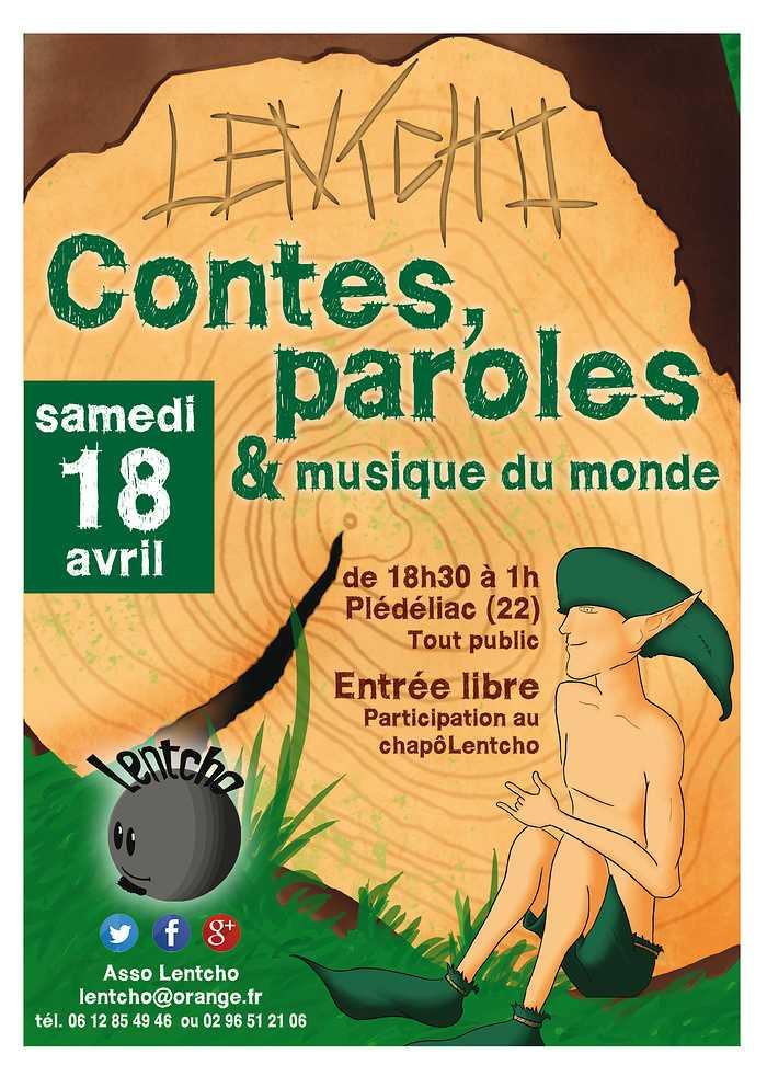 Samedi 18 avril - Contes, paroles et musique du monde 0