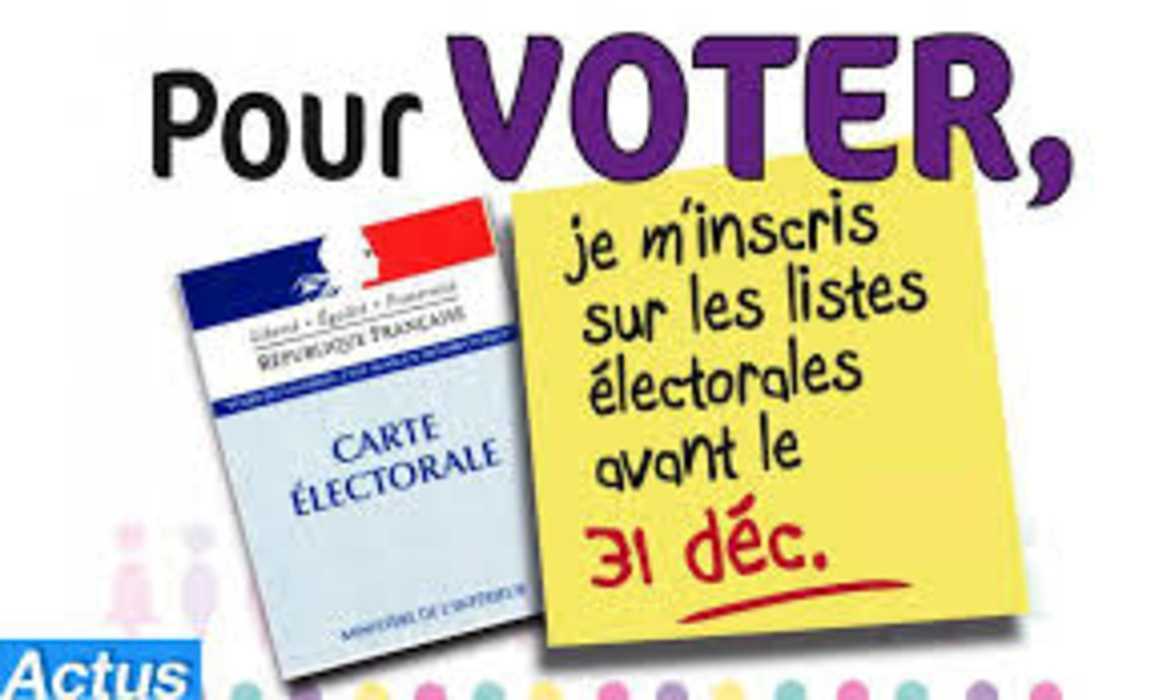 Inscription sur les listes électorales 0