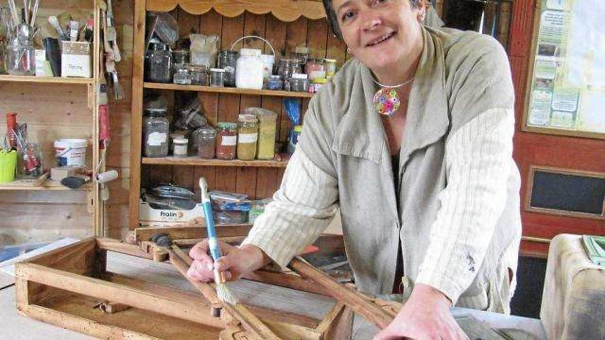 Ferme d''antan - Samedi 4 mars : atelier créatif chrystelle-fourage-redonne-vie-aux-vieux-meubles1